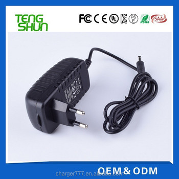 OEM factory high quality 12v 1.5a wall mount switching power adapter with UL CE FCC CB SAA C-tick