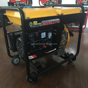 New Design Generator 5000W Diesel Generator Fuel - efficient Low noise and Small Vibration Silent Diesel Generator