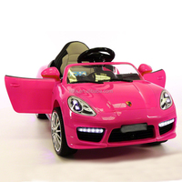 Convertible Car 6-Volt Battery-Powered Ride-On