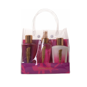 Christmas beauty gift set body mist with beauty packing for lovers