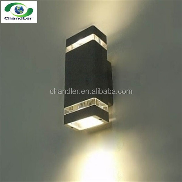 Wholesale 8w wall outdoor led garden lamp / led wall light up and ...