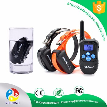 Dog Products Company Rechargeable and Waterproof Remote E Collar For Dogs