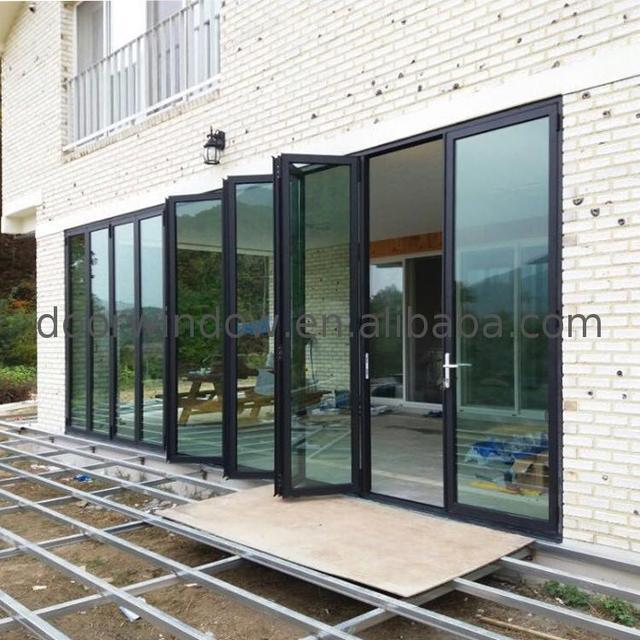 Elegant Folding Door For Living Room Fittings Design
