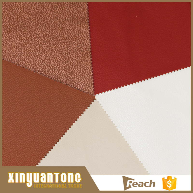 2017 High Quality Lychee Pattern Pvc Synthetic <strong>Leather</strong> For Bags