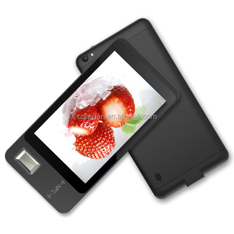 7 inch Android Fingerprint NFC Tablet PC with SAM Smart Card Reader ISO7816