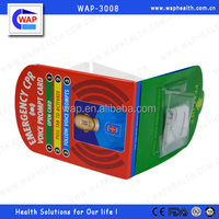 WAP-health CPR Voice Training Guide Card