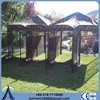 High quality metal or galvanized comfortable double dog kennel