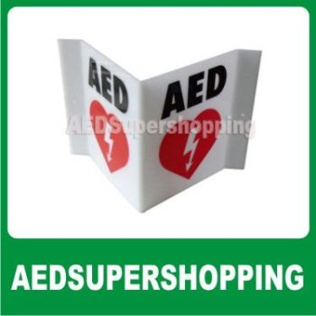 Aed Wall Sign Projection/aed Projection Style Wall Sign/zoll Aed 3-d  Projection Wall Sign/defibrillator Aed Projection Signs - Buy Aed Sgin,Aed
