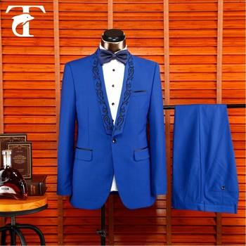 Fitted Design Ash Fashion Mens Formal 2 Piece Groom Wedding Tuxedo