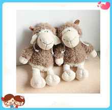 Custom New Design Creative Soft Stuffed Plush Sheep Toys With Wolf Skin