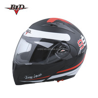 Jinhua Factory wholesale DOT Approved motorcycle helmet flip up
