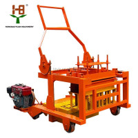 Good quality QCM4-30 moving blok masin/manual egg laying brick making machine price for sale