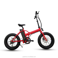 High Speed 500W Brushless Folding Electric Fat Mountain Bike for Promotions