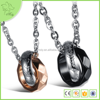 Custom Cheap Stainless Steel Ring Necklace Jewelry Making Supplies