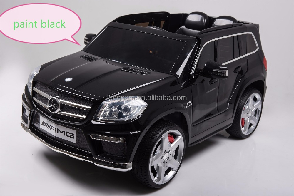 Mercedes Benz GL63 openning doors electric car for children , Rechargeable electric car children ride ons