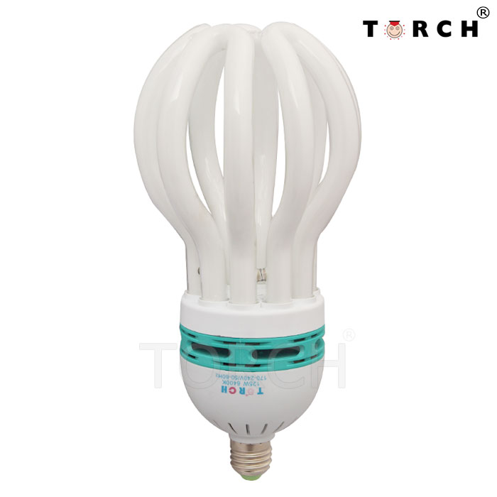 beautiful design brighting 200w energy saving lamp flower shape