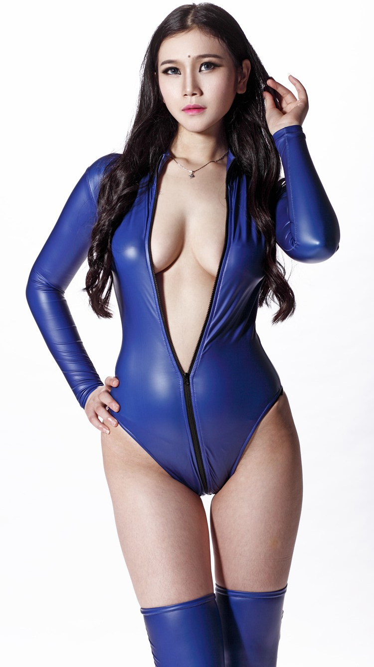 In Latex Catsuits 79
