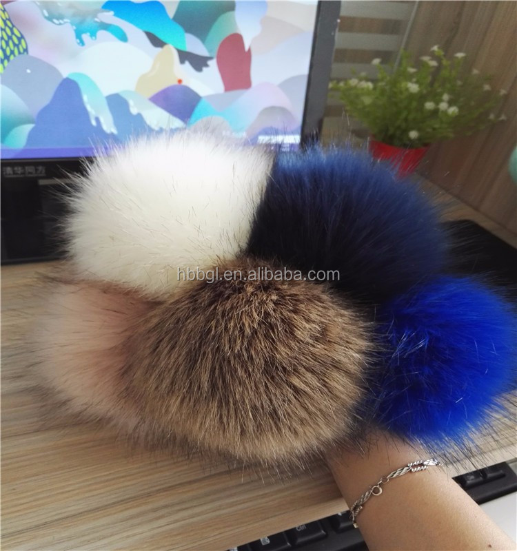 a39a1f0f9482 ... cost charm 5c5f5 428f9 Cheap fox fur pom pom keychain fake fur hair tie  wholesale faux ...
