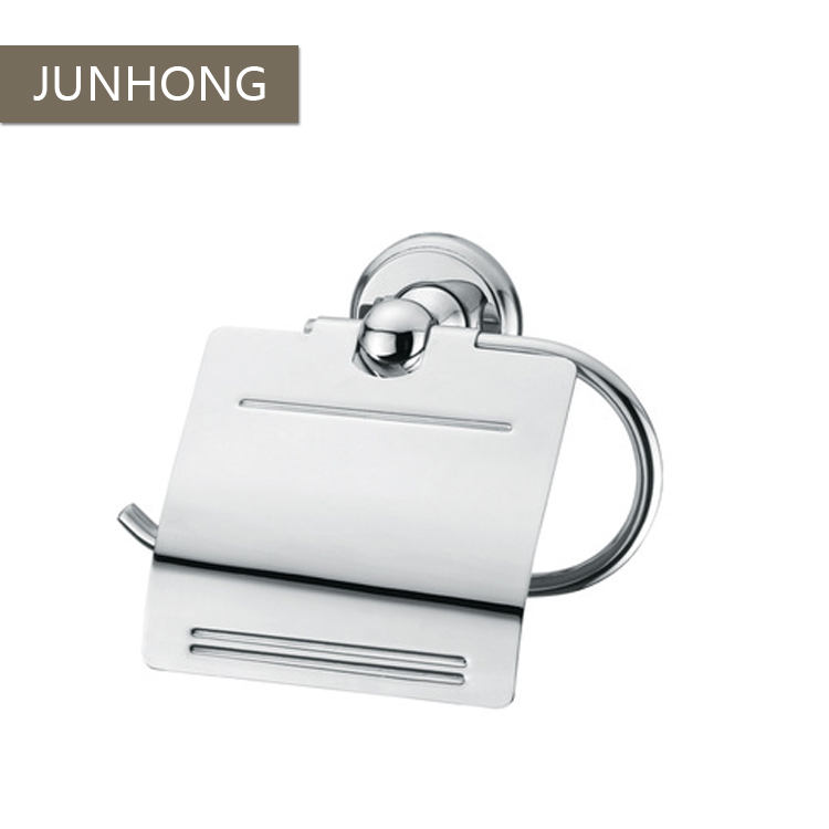 Cheap decorative stainless steel hotel project toilet paper holders
