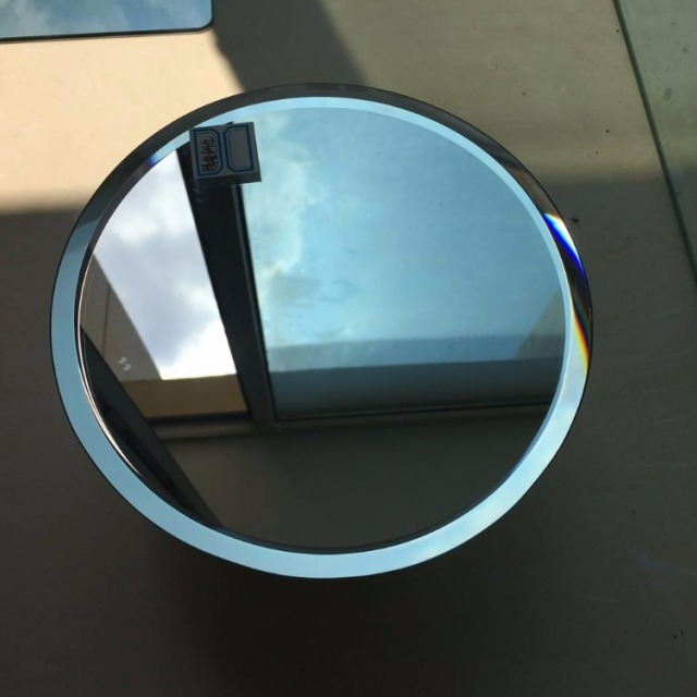 supply 3mm 4mm 5mm beveled edgepolished round silver mirror for bathroom decoration - Decorative Mirror Manufacturers