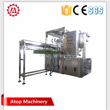 Spout pouch filling and capping machine, Stand up pouch juice packing machine