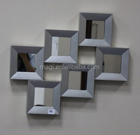 Decor Squares Connected Modern Wall Mirror