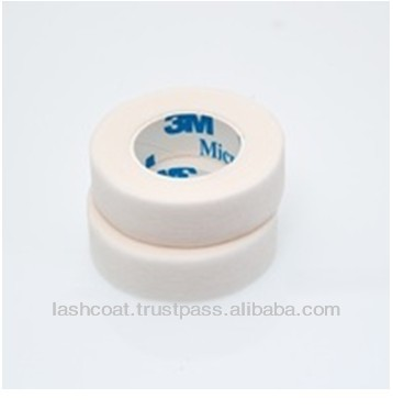Medical Quality White Eyelash Enhancement Micropore Tape