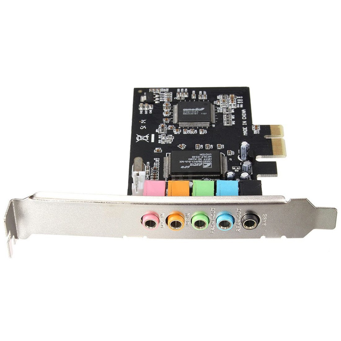 Rohs cmi8738 pci 4ch sound card with drivers buy pci sound card.