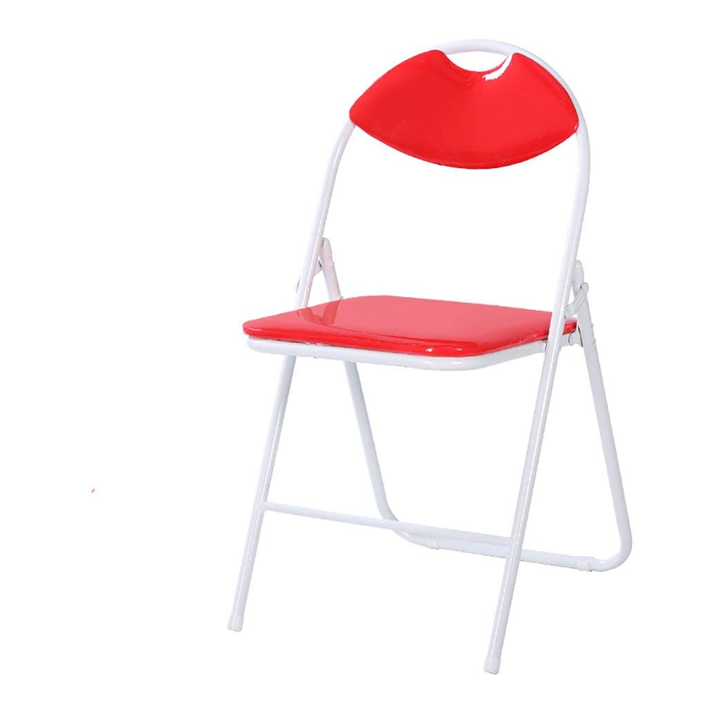 JHZDY Folding chairs Household back chairs Computer chairs Leisure office chairs Simple meeting chairs Training chairs Dining chairs Staff chairs