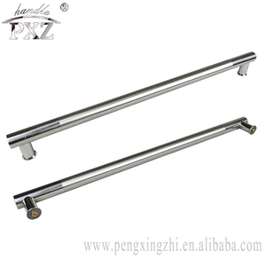 China supplier stainless steel satin chrome finish knurled handle
