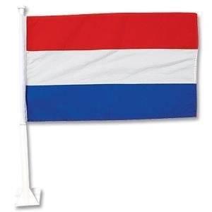 2010 SOUTH AFRICA WORLD CUP HOLLAND SOCCER CAR FLAG