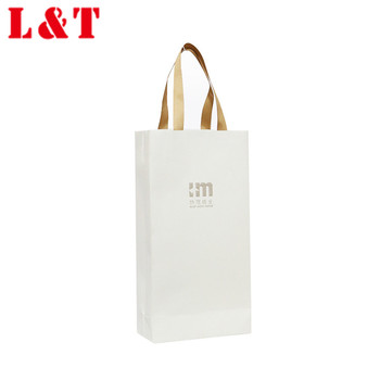 Quality coated paper festival gift packaging bag