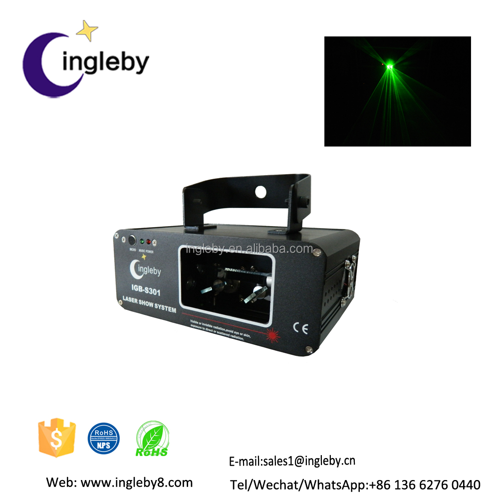 elf outdoor laser sound active light special green effect laser light