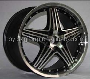 deep lip car alloy wheel