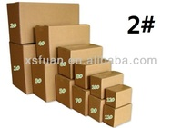 KK 2 th five layer carton packing/paper packaging box/