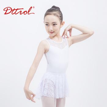 b6a353d24 D031040 Dttrol New Arrivals White Lace Tank Dance Leotards - Buy ...