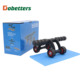 Gym equipment perfect ab 4 wheel with mat