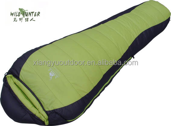 Outdoor Duck Down Mummy Sleeping Bag