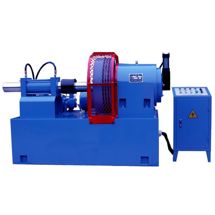 Rotary Pipe embossing machine / Tube swaging equipment dengan efisiensi tinggi