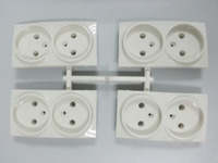 OEM European standard electronic wall socket parts plastic injection mould