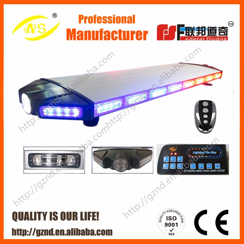 Long Rows Type LED Lightbar LED Strobe Lightbar warning lamp,alarm bar light