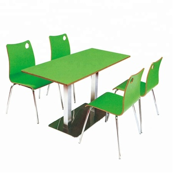 Promotion Price Fast Food Table Chair