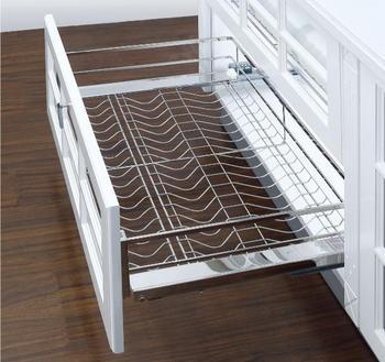 900mm Kitchen Cabinet Sliding Wire Drawer Basket