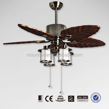 Mountain Air Ceiling Fan With Light