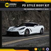 carbon /fiberglass body kit for chevrolet corvette c7 prior PDR700 style