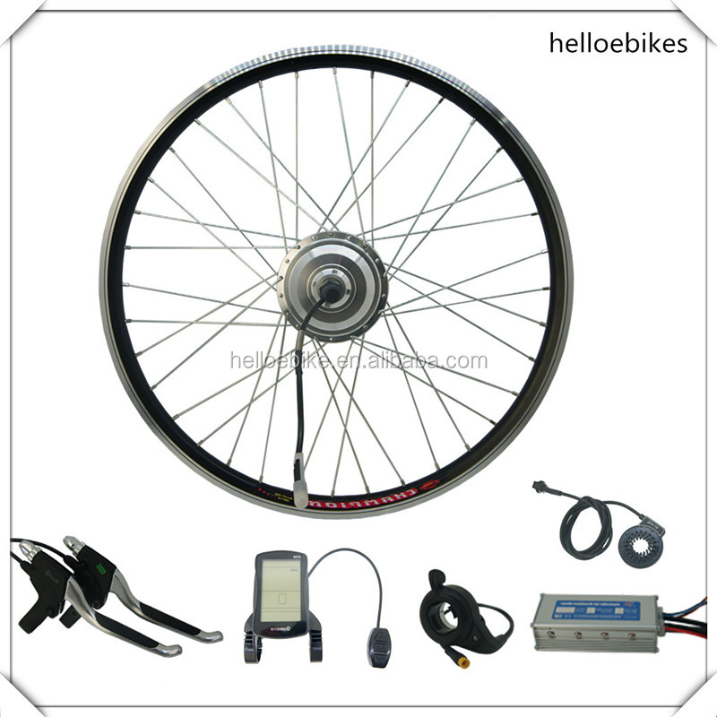 250W/350W/500w/750W/1000W electric bike bicycle ebike conversion kit/hub motor kit with LCD display
