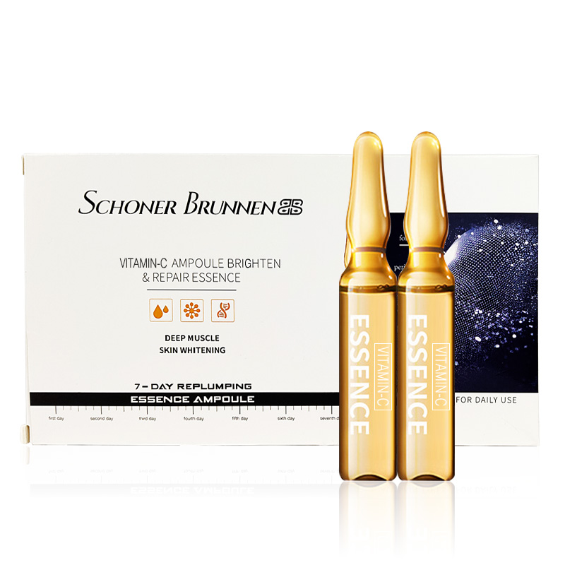 Vitamin C Serum Ampoule For Face Skin Care Anti Wrinkle, Anti Aging,Remove Freckle,Whitening,Moisturizing Skin Facial Serum