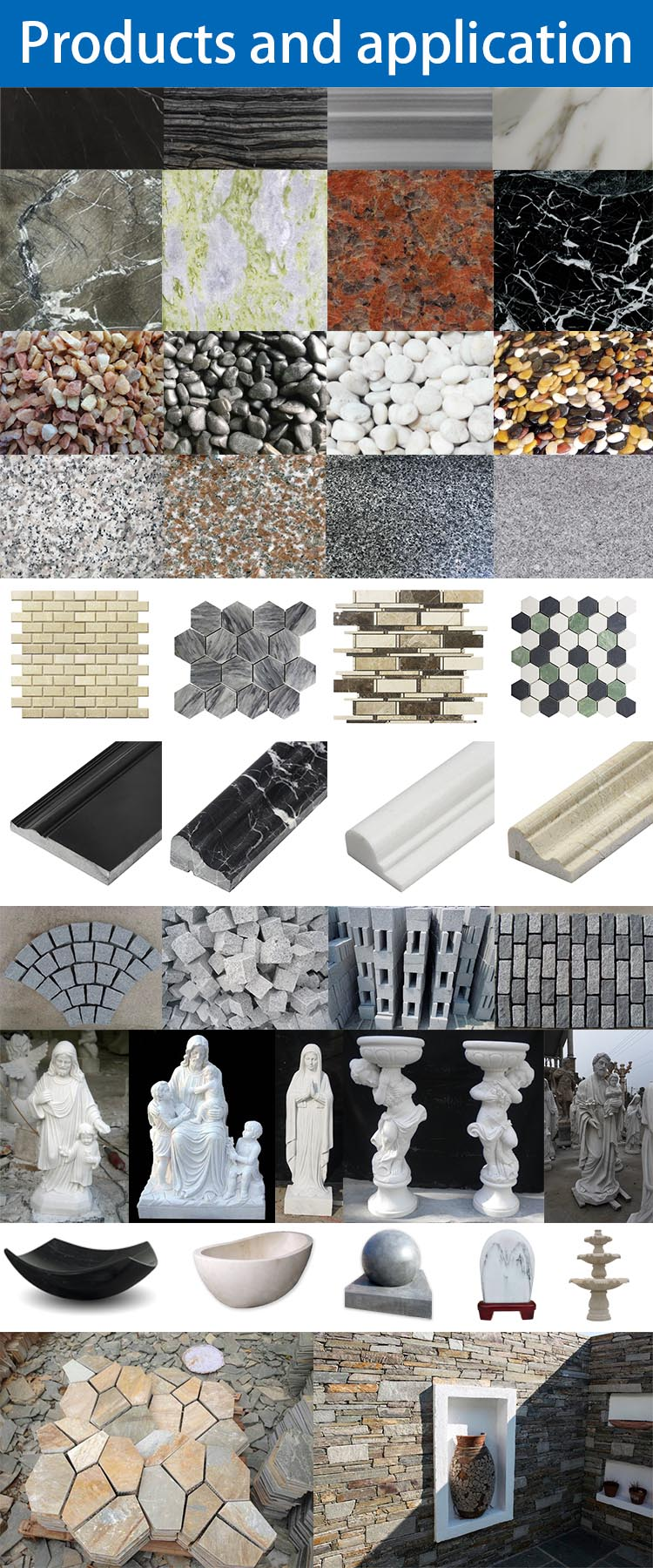 Natural Marble Stone Mix Metal Mosaic Natural Stone Mix Metal Gold Stainless Steel Mosaic Tile