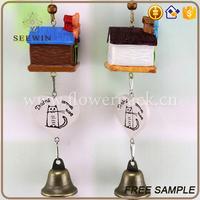 home decoration items antique cast iron bells