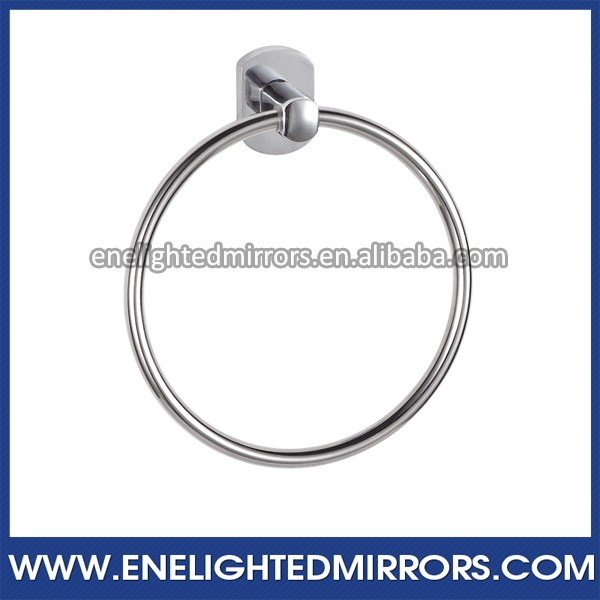 Wholesales low price Brass towel ring brushed nickel
